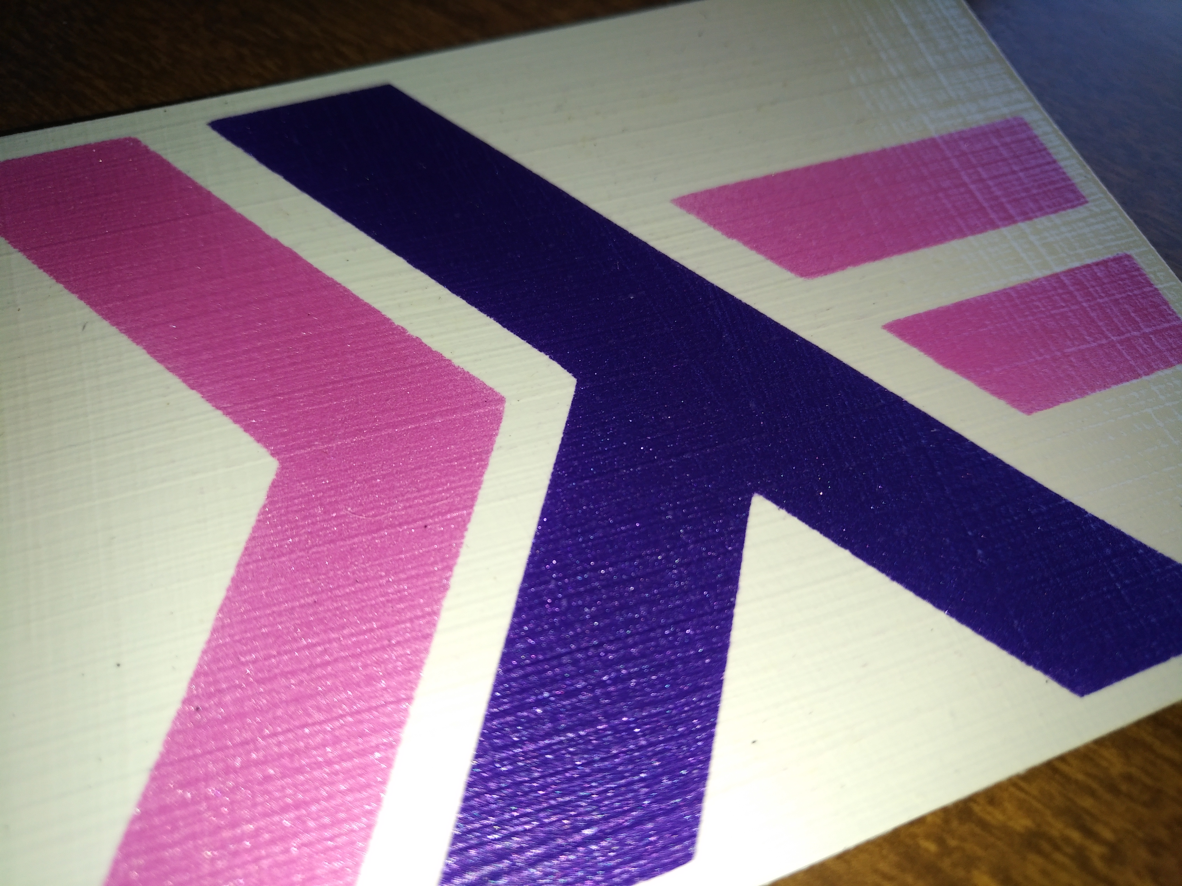 purple and magenta haskell stickers